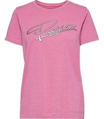 beja w tee t-shirts & tops short-sleeved rosa 8848 altitude