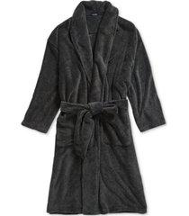 nautica men's plush knit robe