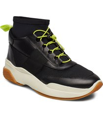 lexy höga sneakers svart vagabond