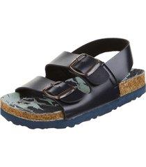 sandalia azul coolpink camuflado