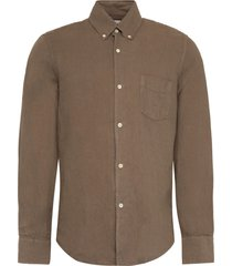 our legacy 1950s linen and cotton blend shirt