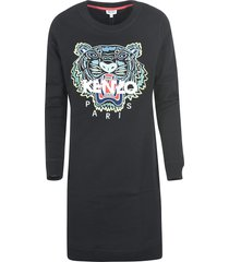 kenzo logo tiger dress