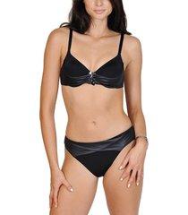 bikini lisca 2-delige zwarte bahami push-up set