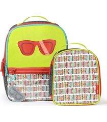 mochila e lancheira kids óculos skip hop masculina