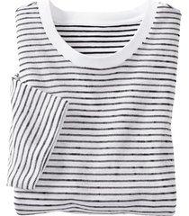 shirt met korte mouw van bio-katoen, wit xxl
