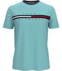 tommy hilfiger men's tino washed logo t-shirt