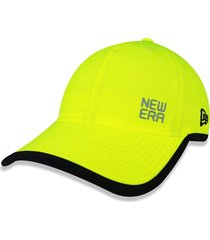 boné new era 920 new era booking program aba curva amarelo