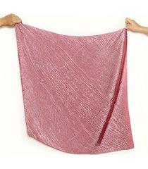 pañuelo rosa nuevas historias plisado