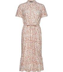 mist bright dress knälång klänning rosa bruuns bazaar