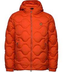 wadded jacket gevoerd jack oranje lyle & scott