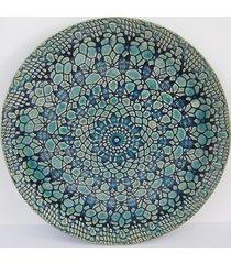 dekoracyjny talerz z koronką