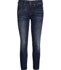 arc 3d mid skinny wmn skinny jeans blå g-star raw