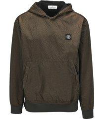 stone island colour frame hoodie