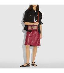 coach women's signature tabby shoulder bag 26 - tan multi