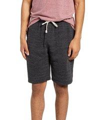 men's threads 4 thought garrett tie waist slim fit fleece shorts