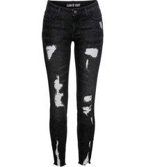jeans super skinny (nero) - rainbow