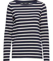 bleu t-shirts & tops long-sleeved multi/patroon weekend max mara