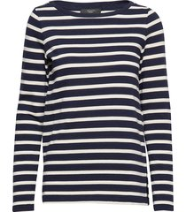 bleu t-shirts & tops long-sleeved multi/patroon weekend max mara