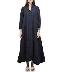 daniela gregi navy spicchi dress