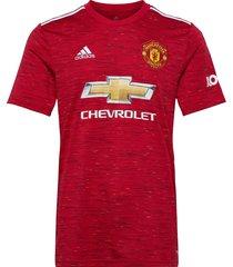 mufc h jsy t-shirts football shirts rood adidas performance