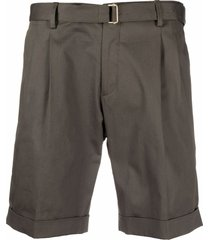 briglia 1949 straight-leg bermuda shorts - green