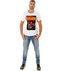camiseta opera rock t-shirt branca - branco - masculino - algodã£o - dafiti