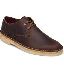 desert khan desert boots snörskor brun clarks originals