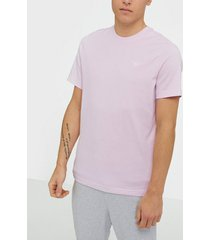 reebok classics cl f small vector t t-shirts & linnen pink