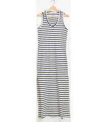 lou & grey sundry stripes maxi dress with slits