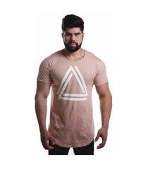 camiseta advance casual triangle caqui