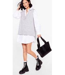 womens want it's croc a love song tote bag - black