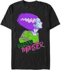 universal monsters men's bride of frankenstein party monster short sleeve t-shirt