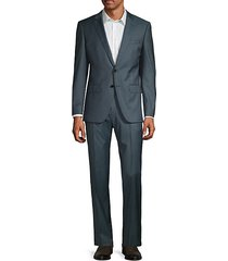 classic-fit wool suit