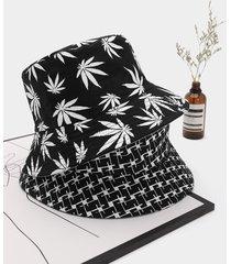 1pc patrón cubo sombrero