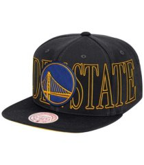 mitchell & ness golden state warriors winners circle snapback cap