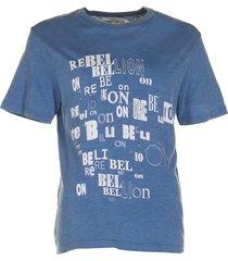 isabel marant t-shirt pewela blauw