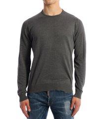 john smedley cotton sweater gray