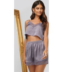 na-kd lingerie shorts - purple