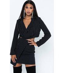 akira ain't so bad pinstripe mini skirt