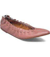 jane ballerinaskor ballerinas rosa see by chloé