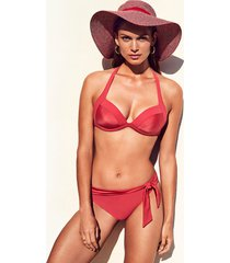 jets by jessika allen 50's moulded rosewood bikini