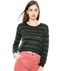 sweater pepe jeans verde - calce holgado