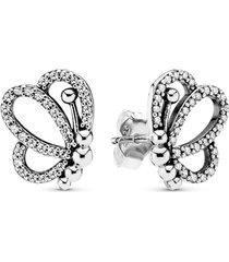 brinco brilhante delicada borboleta