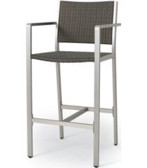 noble house cape coral outdoor barstools, set of 2