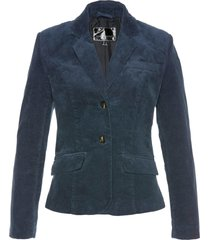 blazer in velluto (blu) - bpc selection