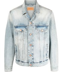 tom wood button-up trucker jacket - blue