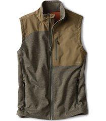 hybrid wool fleece vest