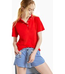 style & co polo top, created for macy's