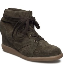 vibe shoes boots ankle boots ankle boot - heel grön pavement