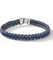 men's david yurman woven box chain bracelet